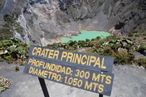 Vulcano Irezù > Costa Rica