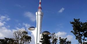 Brasilia Torre tv di Oscar Niemeyer
