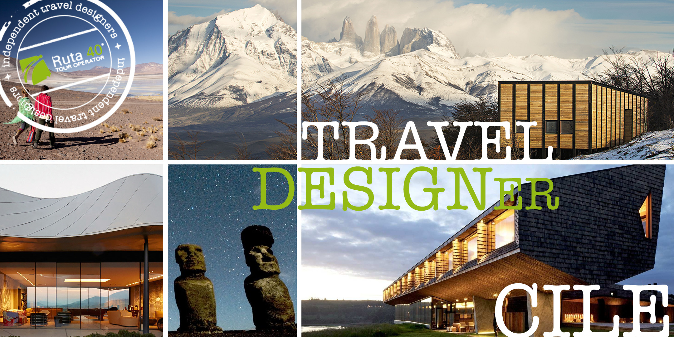Comunicato stampa - Viaggio in Cile attraverso il Design - Ruta 40 Tour Operator